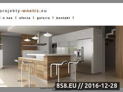 Miniaturka domeny www.projekty-wnetrz.eu