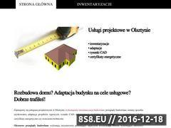 Miniaturka Usł'ugi projektowe w Olsztynie: inwentaryzacje, adaptacje, rys. (projekty.olsztyn.pl)