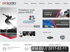 Miniaturka domeny www.prokadra.pl