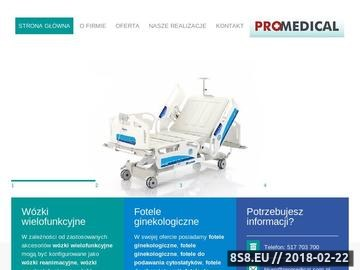 Zrzut strony Sprzęt medyczny