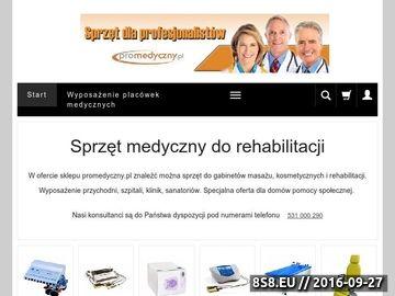 Zrzut strony Wyposażenie placówek medycznych
