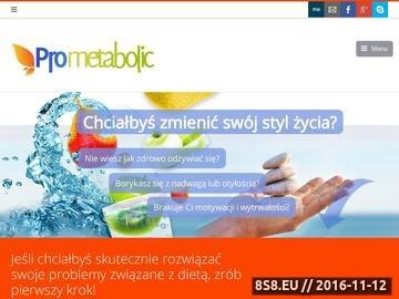 Zrzut strony Dietetyk Poznań