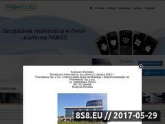 Miniaturka domeny www.prometeusz.gda.pl