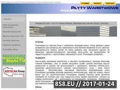 Miniaturka domeny prometplast.com.pl