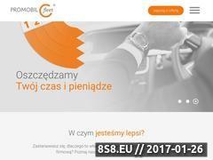 Miniaturka domeny promobilfleet.pl