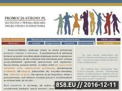 Miniaturka domeny www.promocja-strony.pl