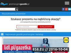Miniaturka domeny www.promocyjnegazetki.pl