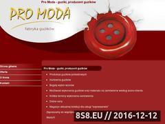 Miniaturka domeny www.promoda.pl