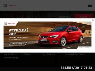 Zrzut strony Autoryzowany dealer seata w Katowicach