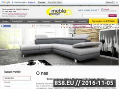 Miniaturka domeny www.promyk-meble.pl