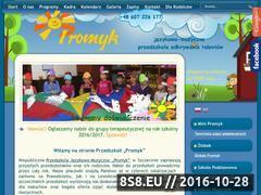 Miniaturka domeny www.promyk.szczecin.pl