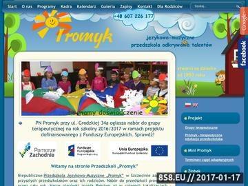 Zrzut strony Przedszkole PROMYK - super przedszkole
