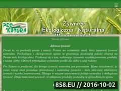 Miniaturka domeny www.pronatura.com.pl