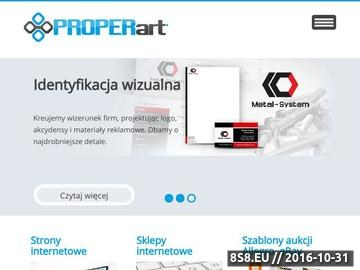 Zrzut strony Strony www, sklepy internetowe, banery, logo