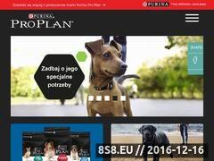 Miniaturka domeny www.proplan-pies.pl