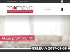 Miniaturka domeny www.propromo.pl