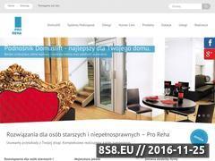 Miniaturka domeny www.proreha.pl