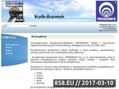 Miniaturka domeny proserwis.net