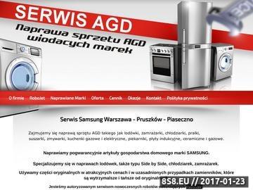 Zrzut strony Oferta firmy Pro Serwis na usługi serwisowe sprzętu AGD