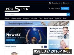 Miniaturka domeny prospersklep.pl