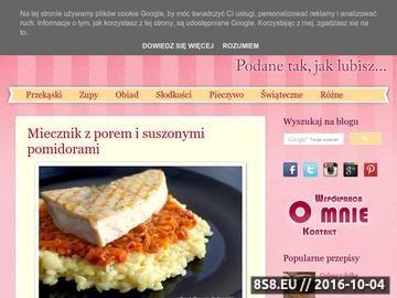Zrzut strony Łatwe gotowanie - przepisy