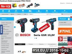 Miniaturka domeny www.protech.koszalin.pl