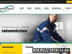 Miniaturka domeny www.proteko.net.pl