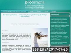 Miniaturka domeny proterapia.pl