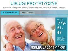 Miniaturka domeny www.protezyotwock.com.pl