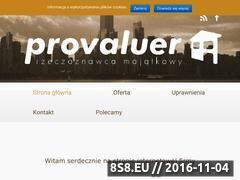 Miniaturka domeny provaluer.pl