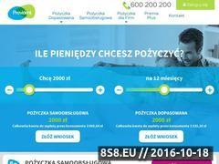 Miniaturka domeny www.provident.pl