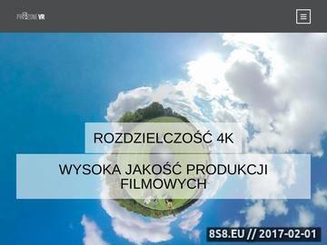 Zrzut strony Produkcja filmów 360