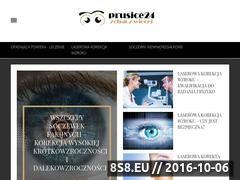 Miniaturka domeny www.prusice24.pl
