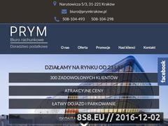 Miniaturka domeny prymkrakow.pl