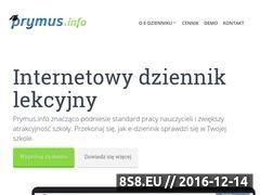 Miniaturka Prymus.info - Dziennik elektroniczny (prymus.info)