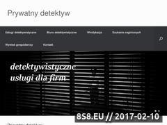 Miniaturka domeny prywatny-detektyw.net.pl