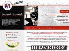 Miniaturka domeny www.prywatnydetektyw.waw.pl