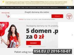 Miniaturka domeny www.przechowywalnia.pl