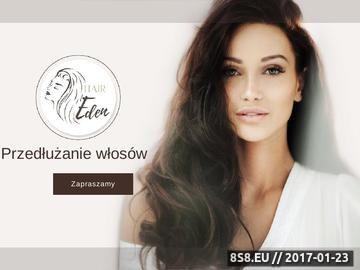 Zrzut strony Przedłużanie i zagęszczanie włosów