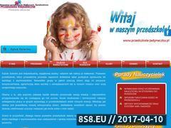 Miniaturka domeny www.przedszkole-jedyneczka.pl
