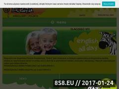 Miniaturka domeny przedszkole-zebra.pl