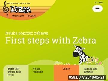 Zrzut strony Przedszkole Raszyn - przedszkole-zebra.pl