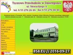 Miniaturka domeny przedszkoledzierzgon.pl