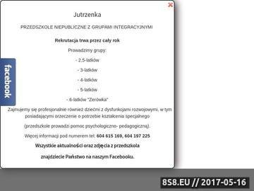 Zrzut strony Przedszkole Jutrzenka - prywatne przedszkole