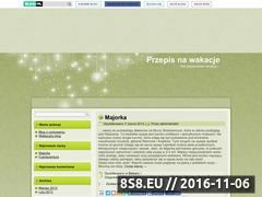 Miniaturka domeny przepisnawakacje.blog.pl