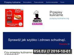Miniaturka domeny przepisy-kulinarne.org