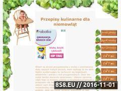 Miniaturka domeny www.przepisydladzieci.dla4.pl