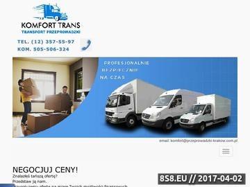 Zrzut strony Przeprowadzki Kraków - transport Kraków