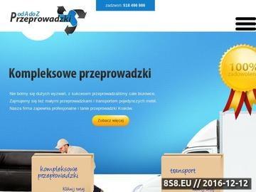 Zrzut strony Transport mebli Kraków