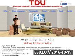 Miniaturka domeny www.przeprowadzki-poznan-24.pl